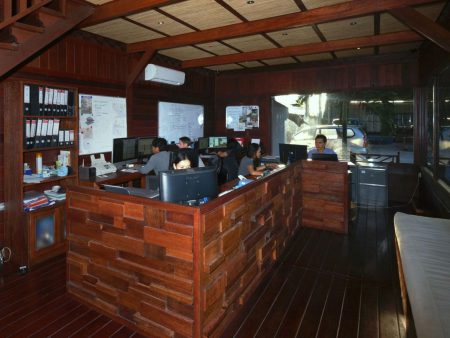 Touchwood Office is Located in Jimbaran South Bali