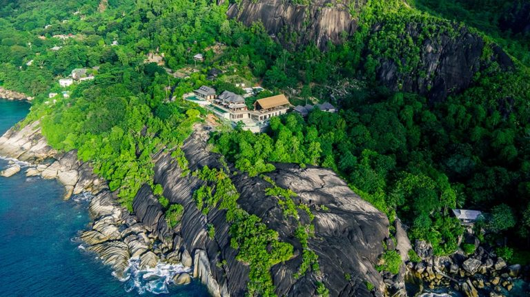 Luxury Exterior Project of Boutique Resort in Seychelles