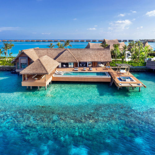 Waldorf Astoria Resort, Maldives - PT Touchwood Projects Protfolio in Maldives