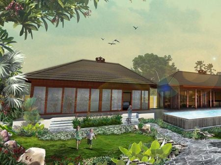 a Luxury Prefabricated House with Eco-development Concept